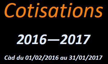 Rappel cotisation